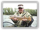 Spring Fishing on the South Fork of the Snake River