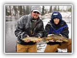 Late Season Brown Trout on Lewis Lake