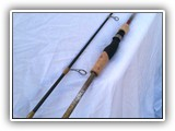 Brown Trout Decals on Custom Spin Rod