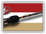 Custom SF 49er Ice Rod