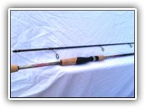 Rainbow Trout Decals on Custom Spin Rod