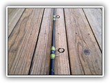 Custom Tuna Rod on Seeker Blank