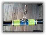 Guide Wrap on Custom Tuna Rod